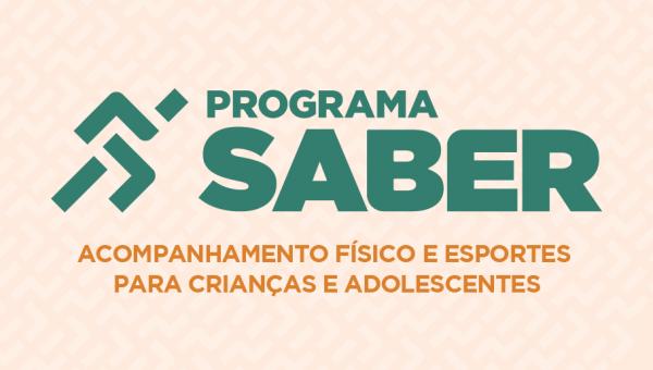 Programa Saber oferece atividades físicas gratuitas para crianças e adolescentes