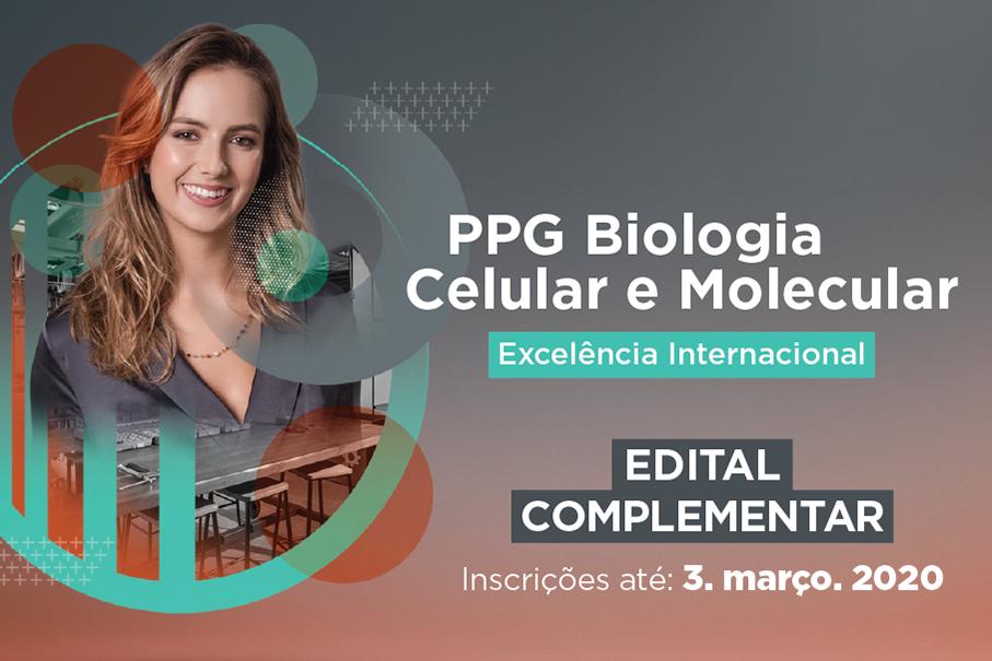 biologia celular e molecular, ppg, mestrado, doutorado, escola de ciências da saúde e da vida, pesquisa, bolsas