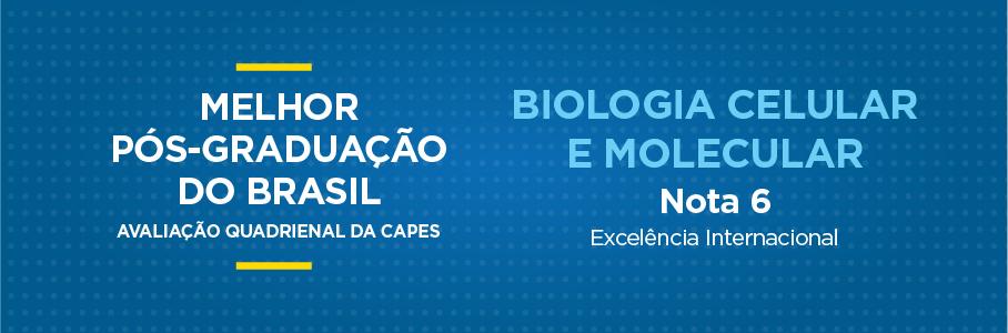 Banner Capes - Programas de Pós-Graduação - Biologia Mlecular