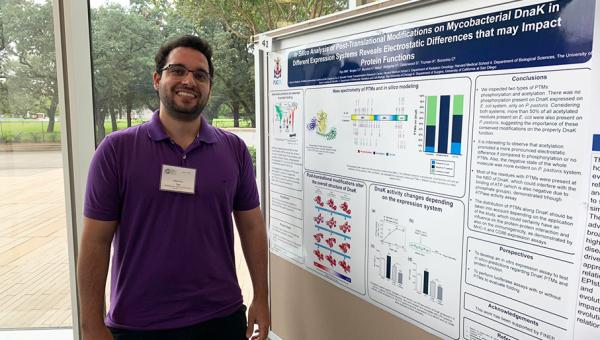 Pesquisador participa de atividades na área da bioinformática na Rice University