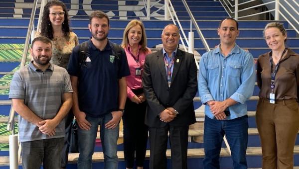 Comitê Olímpico do Brasil visita estrutura do Parque Esportivo