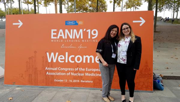 Doutoranda apresenta pesquisa no Congresso da Associação Europeia de Medicina Nuclear