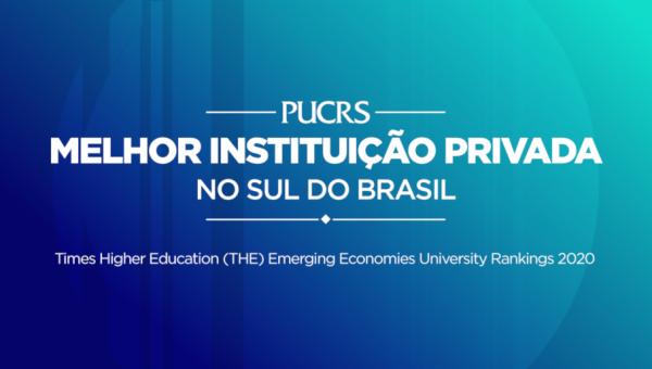 PUCRS é a melhor universidade privada da região Sul, segundo ranking internacional