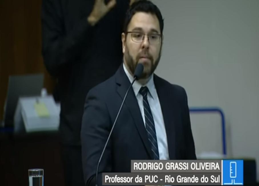 Rodrigo Grassi de Oliveira, Senado