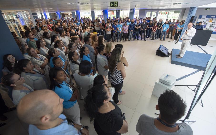 renova nossos valores, valores, café, técnicos administrativos, funcionários, living 360, reitor, Evilázio Teixeira