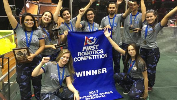 Students win big at the world's biggest robotics event
