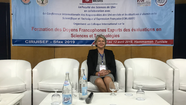 Dean of School of Technology joins training program in Tunisia