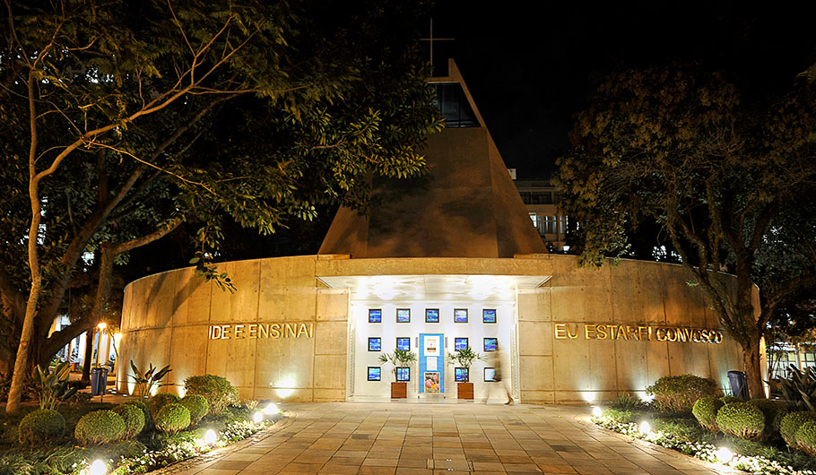 Fachada Igreja Igreja Universitária Cristo Mestre