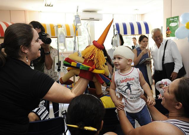 Evento reúne crianças no Hospital São Lucas