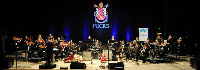 Orquestra realiza Concerto Bruno Todeschini - Ascom/PUCRS
