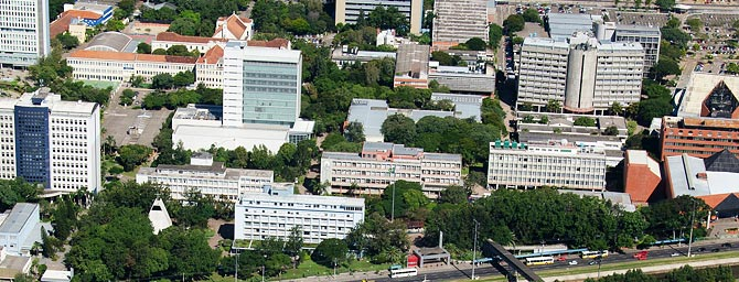 Vista do Campus Central - Porto Alegre