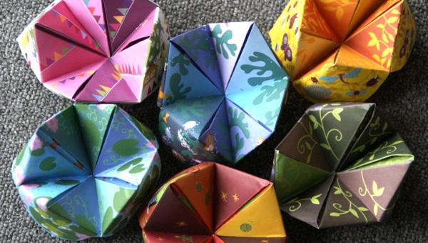 Aprenda diferentes técnicas de origami
