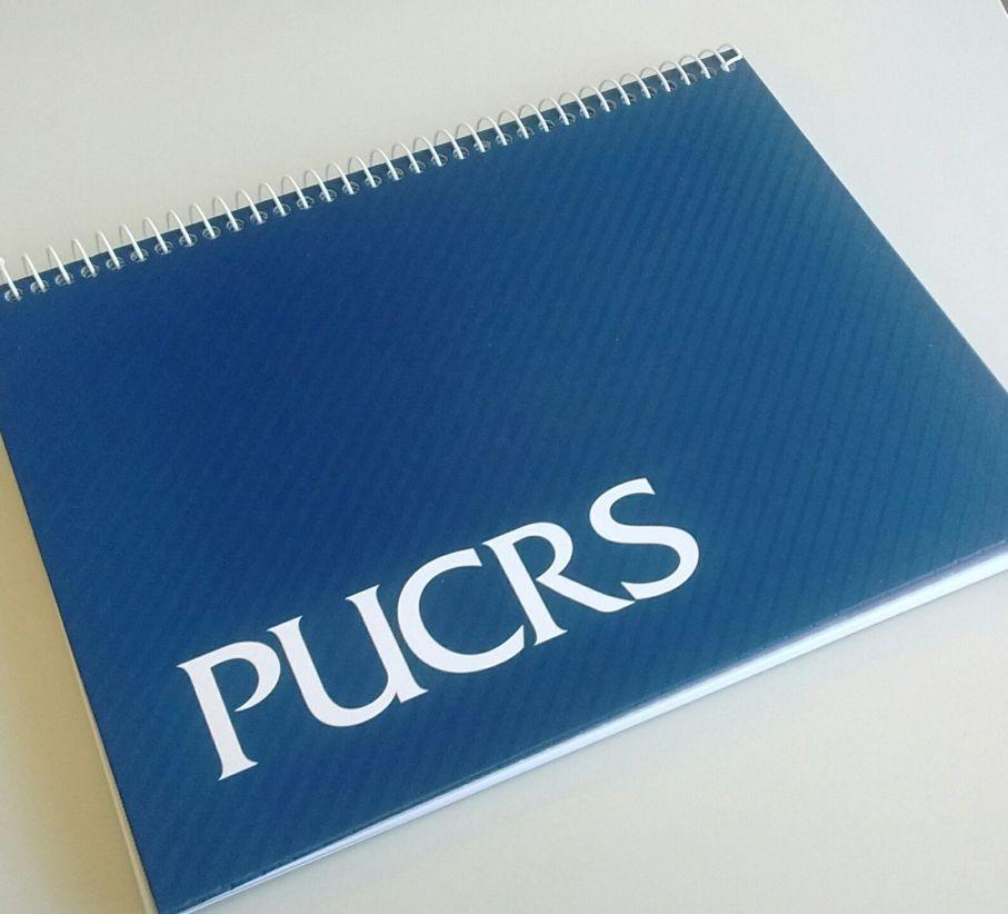 caderno PUCRS