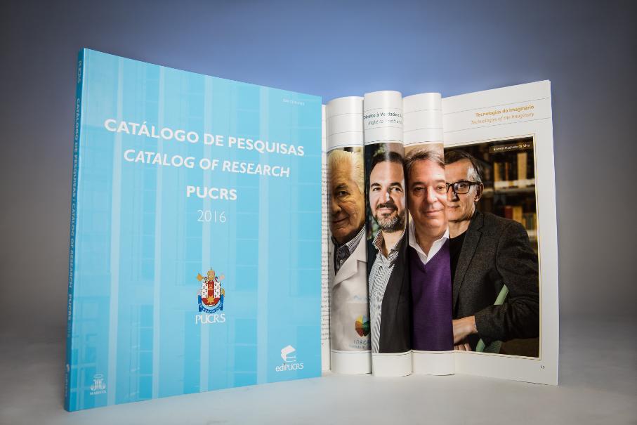 Catálogo de Pesquisas PUCRS 2016