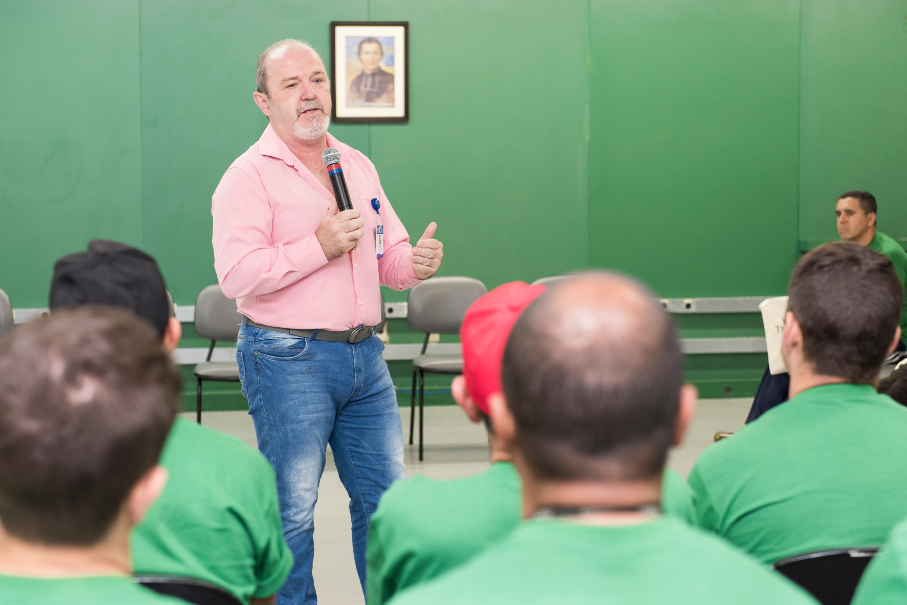 Professor Francisco Kern, coordenador do curso de Serviço Social