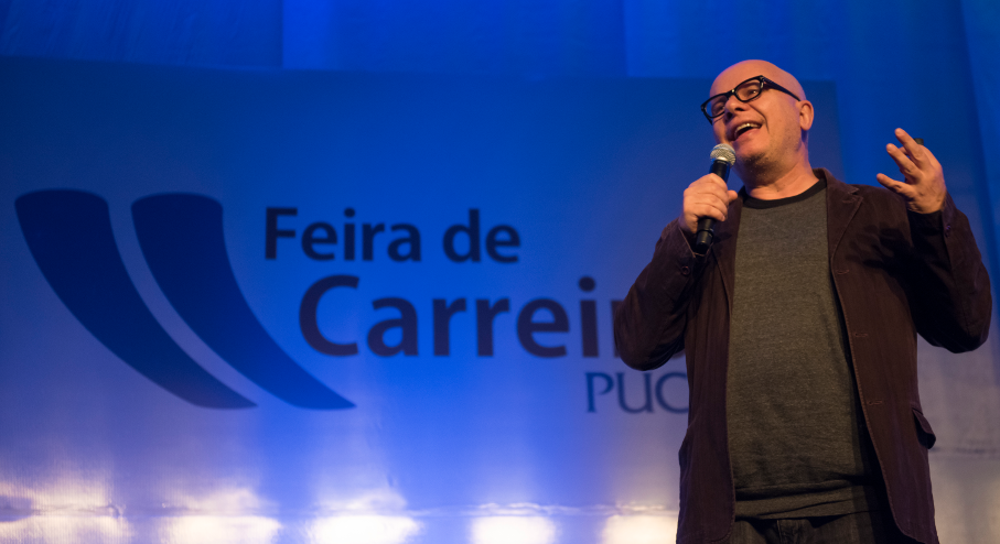 Marcelo Tas na Feira de Carreiras 2016