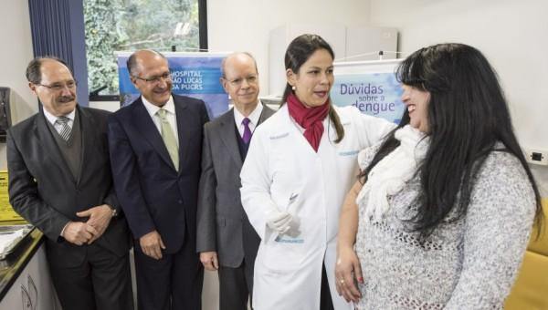 HSL inicia teste da vacina da dengue em voluntários