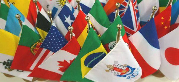 Bandeiras de diversos países