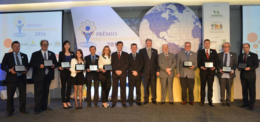 Prêmio Pesquisador Gaúcho 2016