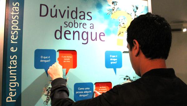 Museu recebe exposição sobre dengue