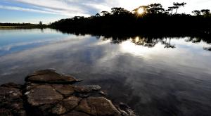 Lago no Pró-Mata