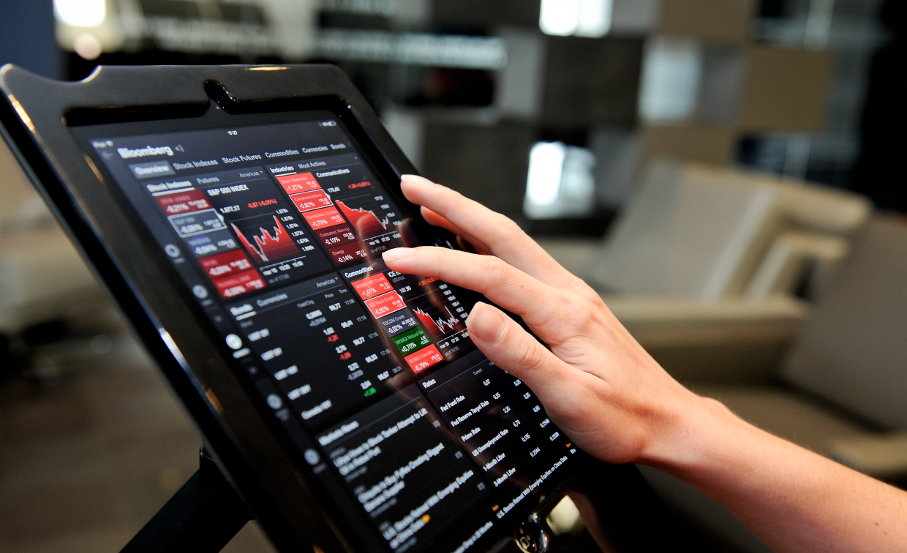 Estúdio de Finanças, Tablet, Negócios