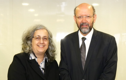 Claudia Lima Marques e Draiton Gonzaga de Souza, coordenadores do CDEA