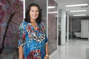Suzana Caberlon, paciente Hospital São Lucas