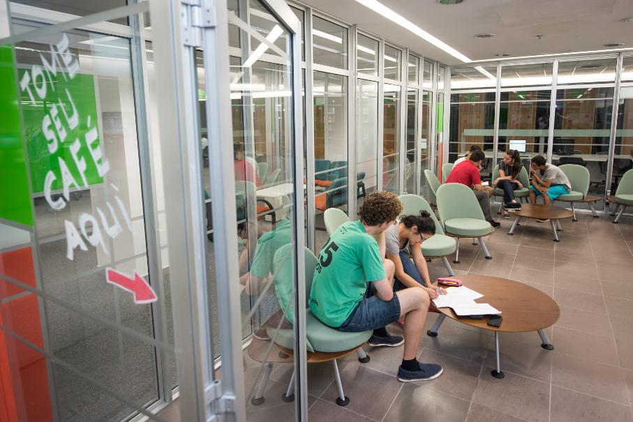 Novos espaços da Biblioteca - Espaço Aberto