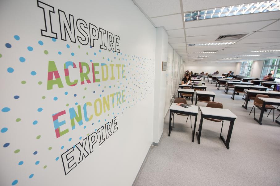 Sala de Estudos externa - Foto: Bruno Todeschini