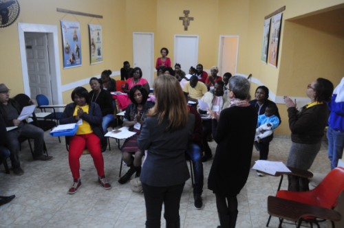 Curso de Português para Imigrantes, Imigrantes, Haiti