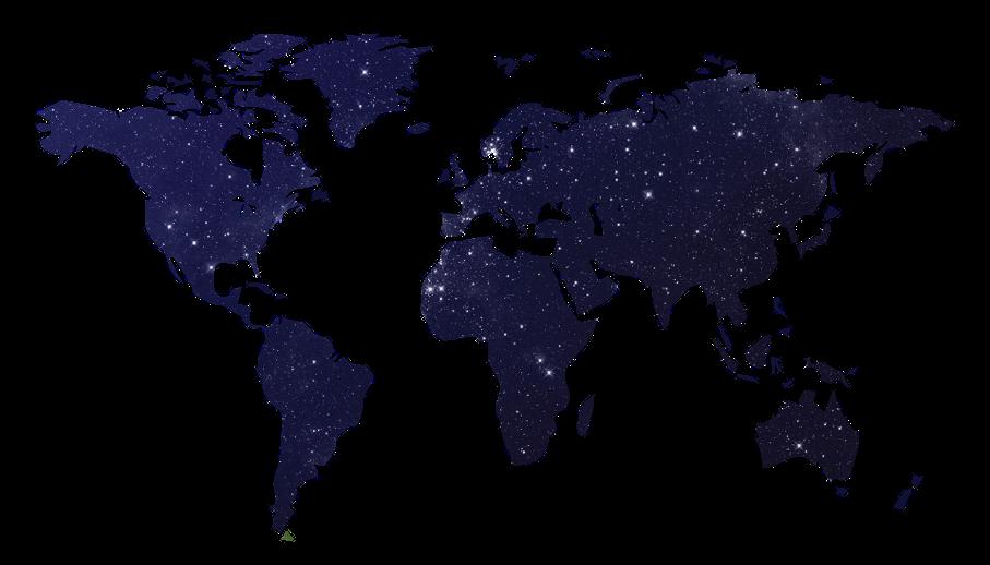Mapa-múndi, galáxia, estrelas