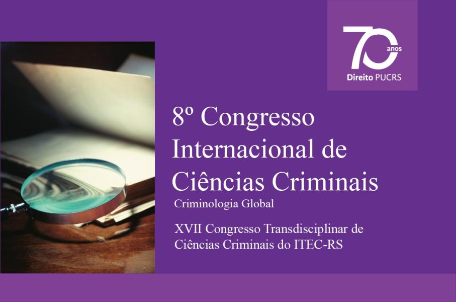 congresso de ciências criminais, escola de direito, programa de pós-graduação em ciências criminais