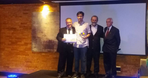 28º ENANGRAD, Jonatas Eduardo Salgado, aluno, prêmio, escola de negócios, administração, graduação