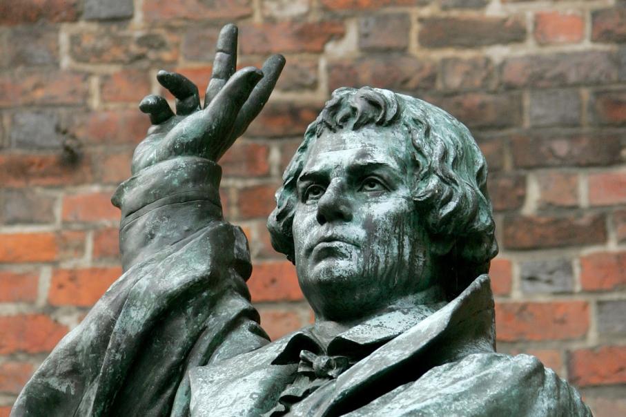 Martinho Lutero,estátua,luterano