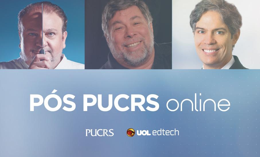 online, presencial, uol, pós-graduação, pucrs 360, educon