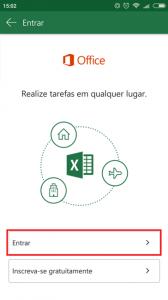Office 365 - Instalação Android