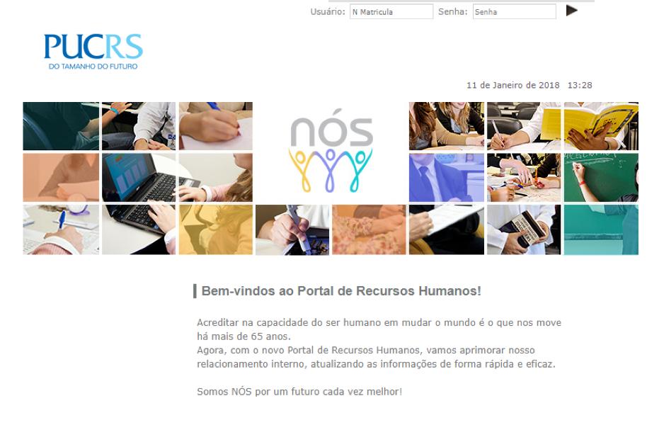 Office 365 - Tela Portal RH