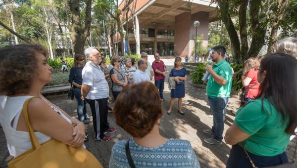Diplomados são recebidos em ação especial no Campus