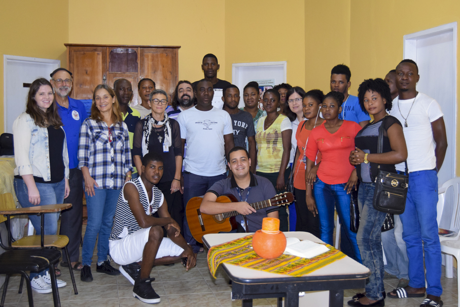 curso, aula, aulas, português, imigrantes, estrangeiros, haitianos, Haiti, Letras, Escola de Humanidades