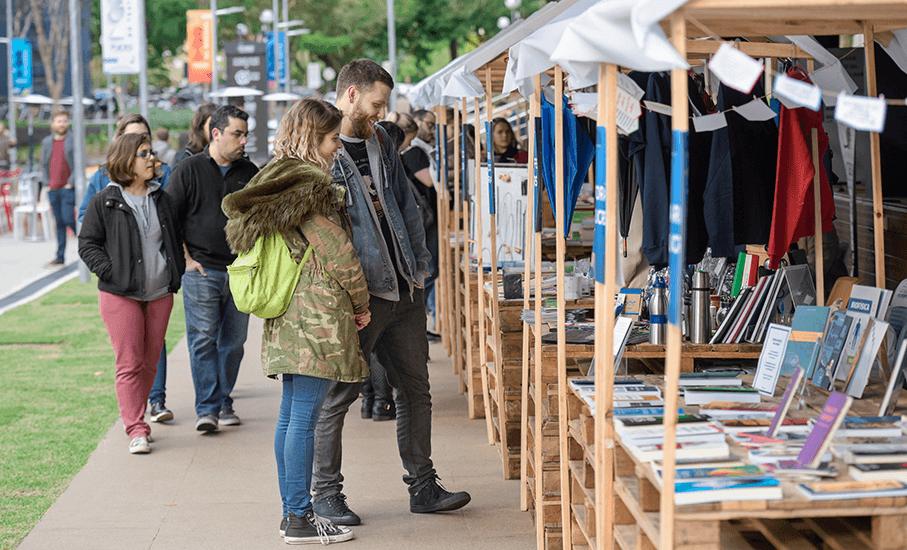 Feira do livro, Edipucrs, Rua da Cultura