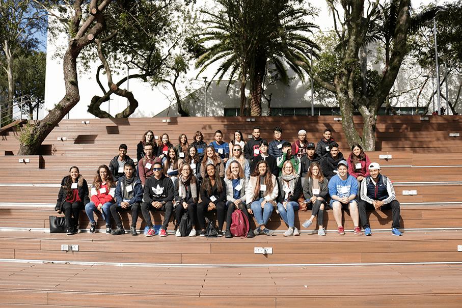 alunos internacionais,mobilidade acadêmica,rua da cultura