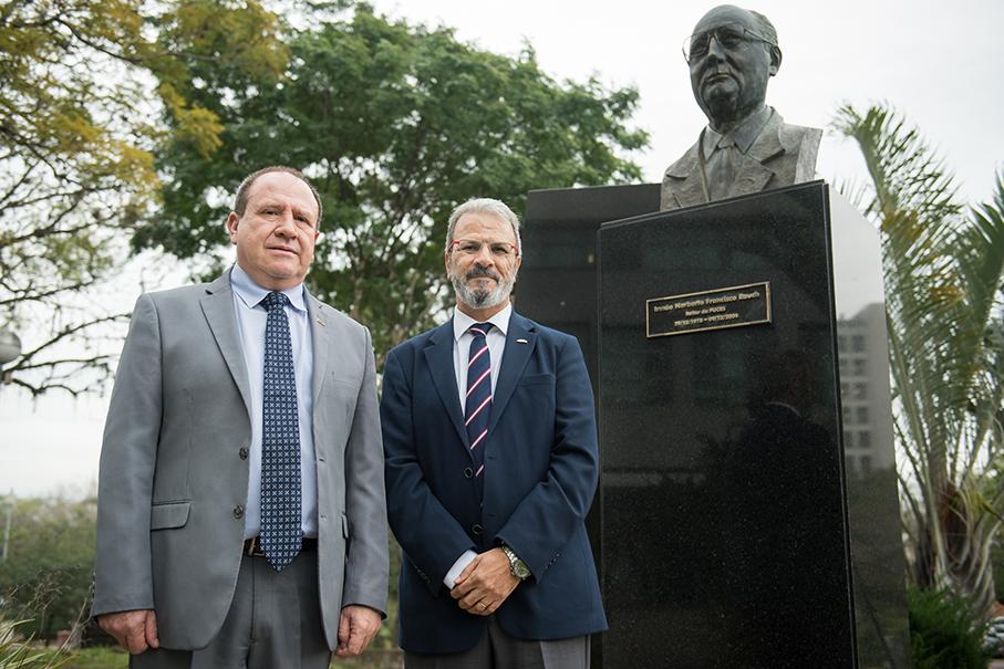 Ir Evilázio Teixeira, Jorge Audy, Ir Norberto Rauch