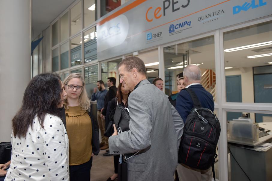 Visita de representantes da Dell, Escola Politécnica