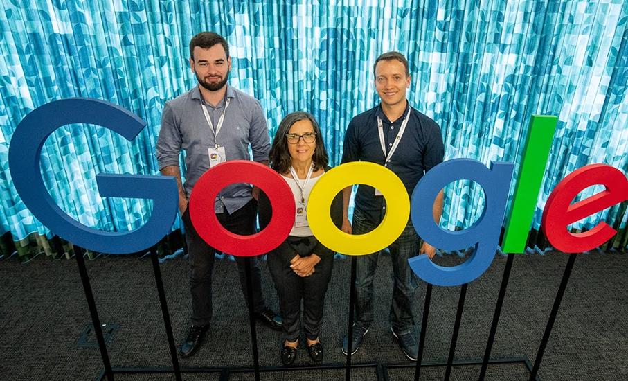 Google, Jônatas Wehrmann, Renata Vieira, Henrique Dias