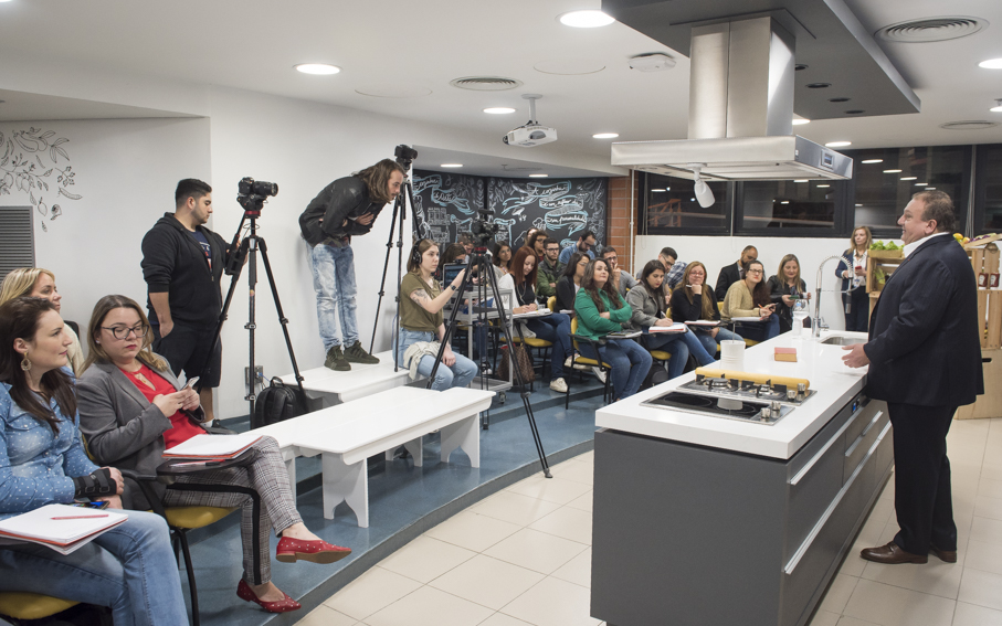 érick jacquin, pucrs online, gastronomia, cozinha show