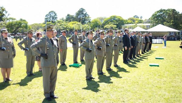 Brigada Militar comemora 181 anos e presta homenagem à Universidade