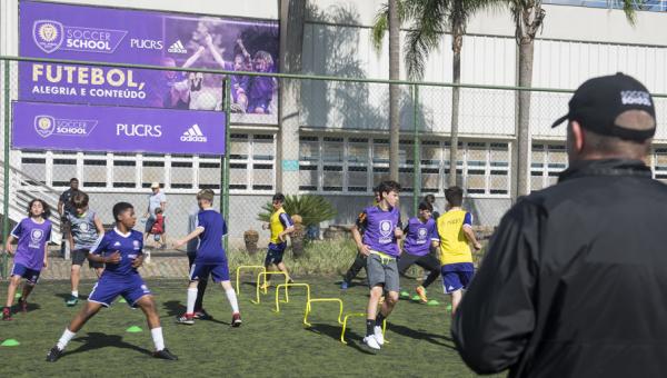 Orlando City Soccer School completa um ano no Parque Esportivo