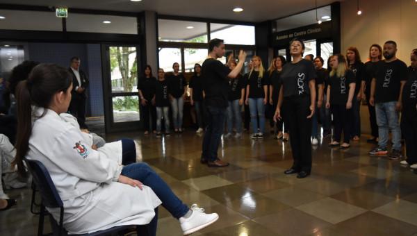 Com Cantata de Natal, Coral da PUCRS se apresenta no Hospital nesta sexta-feira