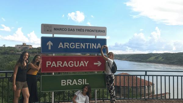 Alunos internacionais aproveitam as férias para conhecer o Brasil